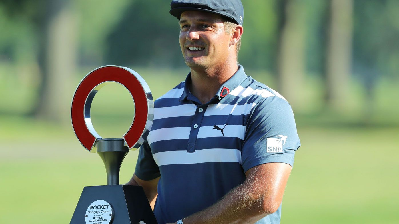 Bryson DeChambeau is making waves across the circuit with his impressive physique and results to match.