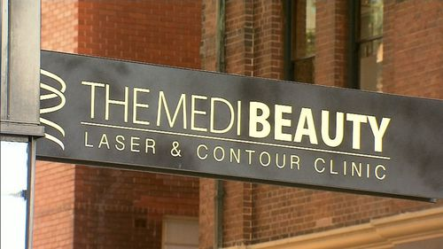 The Medi Beauty clinic was founded in Victoria and only recently opened a branch in Chippendale. (9NEWS)
