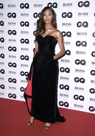 Jourdan Dunn at the British GQ Men of the Year Awards