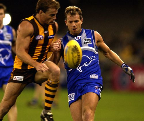 Archer played for North Melbourne from 1997 until 2007. (AAP)
