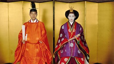 Emperor Akihito of Japan and Michiko Shoda