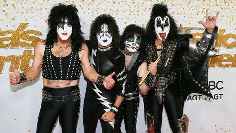 Paul Stanley, Tommy Thayer, Eric Singer and Gene Simmons