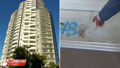 Residents shocked after learning their apartments aren't up to scratch.