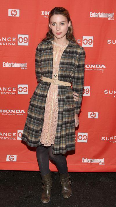 Rooney Mara: Then...