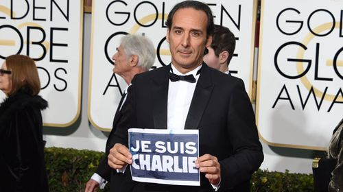 French composer Alexandre Desplat is Charlie. (Getty)