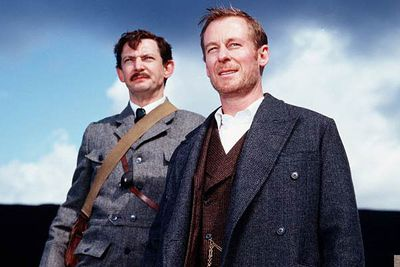 <b>Holmes and Watson:</b> Richard Roxburgh and Ian Hart.<br/><br/><b>The case:</b> Australian connection! In this made-for-TV movie, Aussie actor Richard Roxburgh stepped into the sleuths venerable shoes. Curiously, Roxburgh later starred in <i>The League of Extraordinary Gentlemen</i> — playing Sherlock's nemesis Professor Moriarty.