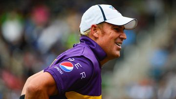 <p>Shane Warne has turned back the clock, taking three wickets in an exhibition All Stars match in New York.</p><p>Warne snared the wickets of Indians Sachin Tendulkar and VVS Laxman, and West Indian great Brian Lara during the contest the the New York Mets' stadium Citi Field.&nbsp;<br><br>Warne organised the three-match series with Tendulkar, with the aim of taking the game to new markets.&nbsp;</p><p><strong>Click through for more images from the match.&nbsp;</strong></p>