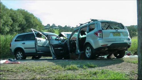 The horror crash claimed the life of 36-year-old Sydney mother Tamara Mobarrez. (9NEWS)