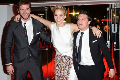 Seriously Jennifer Lawrence?! Some girls just have all the fun.
