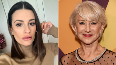 Lea Michele and Helen Mirren, reveal real names, celebrities