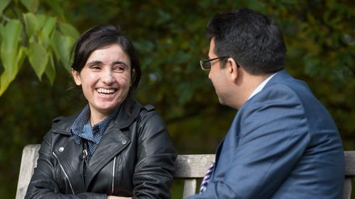 Yazidi survivor of ISIS slavery aims to be 'voice' of her people