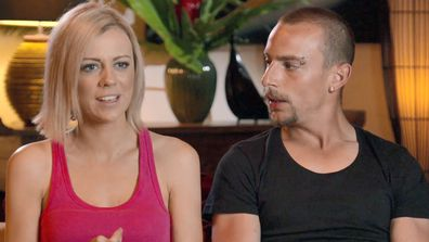 Sarah and Keelan were unable to mend their relationship on The Last Resort.