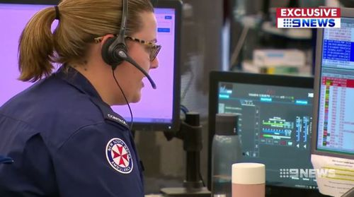 Emergency call centres are being swamped with crank callers. (9NEWS)