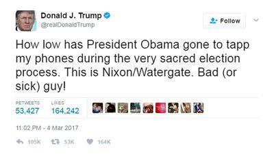 Donald Trump's tweet. (Twitter)