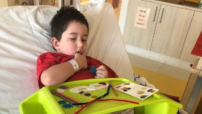 The Starlight Children's Foundation supports children like William during their hospital stays.