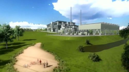 The proposed incinerator at Eastern Creek will burn half a million tonnes of rubbish and turn it into electricity.