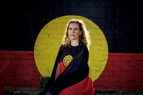Laura Thompson, Gunditjmara Woman , Managing Director Spark Health Australia and Clothing The Gap says the Aboriginal flag is a symbol that unites Aboriginal communities.