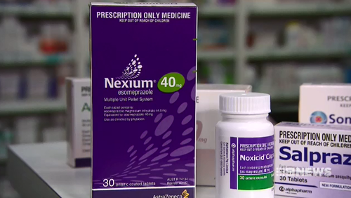 One of the country's most commonly prescribed medications to treat heartburn and stomach ulcers has been linked to an increased risk of allergies.