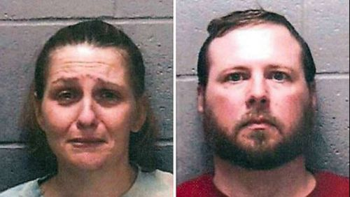 'Evil people': US couple who starved six-year-old son to death jailed