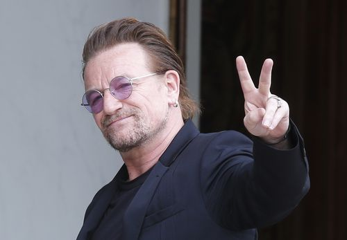 "Bono said he was ""deeply sorry"" amid the multiple allegations of bullying and the charity he co-founded. (AP/AAP)"
