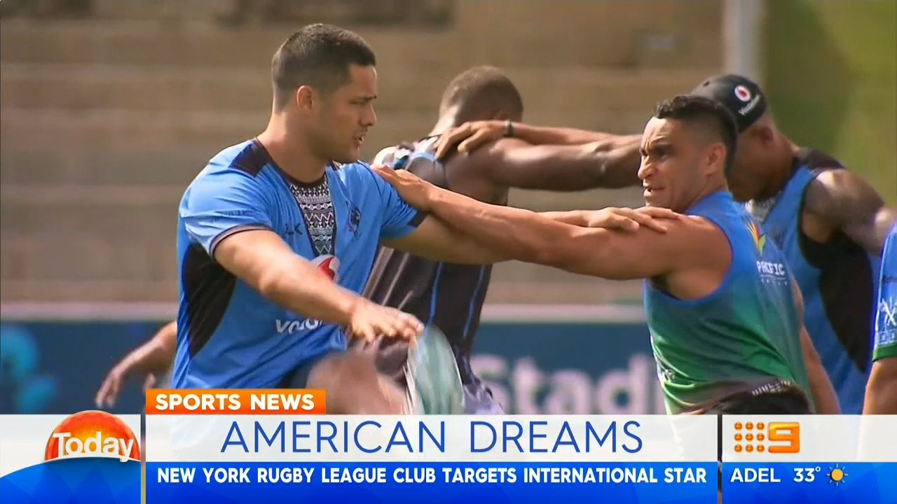 Hayne targeted by New York rugby league club