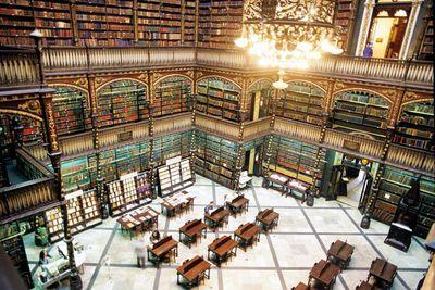 <strong>Royal Portuguese Reading Room, Rio de Janeiro</strong>