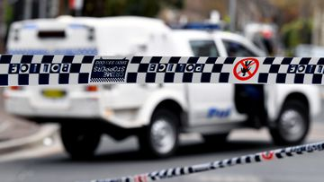 Police from Traffic and Highway Patrol Command arrested a 27-year-old Airds man after a spate of wild carjackings yesterday.