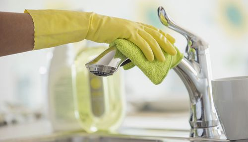 The researchers found disinfectants used in the home at least weekly raise the levels of Lachnospiraceae bacteria in infants.