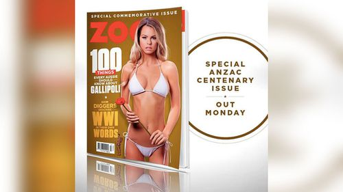 Men's mag removes Anzac advertising