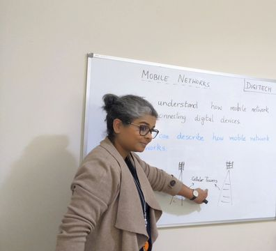 Priya made a later-in-life change to become a teacher.