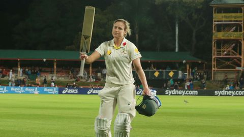 Ellyse Perry's double hundred was the highlight of the drawn Test.