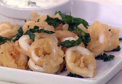 Make: Fried calamari