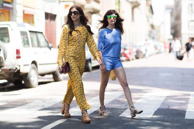 <p>We've made it past the shortest day of the year, which means it's officially time to start looking forward to summer. Get through the cold snap with the prettiest prints, sandals and billowy dresses from Milan.</p>