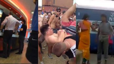 <p>In the world of news videos this week, everyone was angry. </p><p> Things started badly with a belligerent and racist man in South Australia complaining about the ethnicity of the person who made his burger. </p><p> Things stayed fiery when a Good Life Festivalgoer got smashed in a spear tackle and an angry over-taker had his car sandwiched between two trucks. </p><p> One person who was justifiably angry was the Indian woman who body-slammed a man abusing her at a railway station, and there were the beach-going holiday makers forced to endure planes flying right overhead who probably should have been angry but just made the most of things. </p><p> Watch back over the week that was in news videos and you too can get fired up.  </p><p> </p>