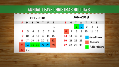 Still recovering from Christmas? It's time to start planning.