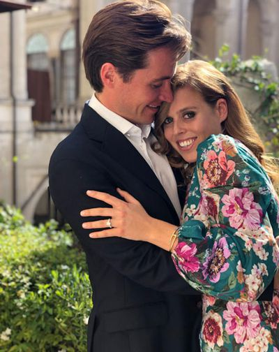 Princess Beatrice and Edoardo Mapelli Mozzi, September 2019