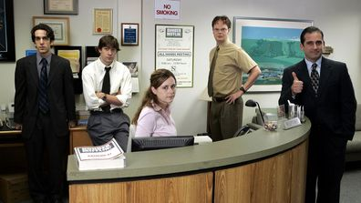 It's the team from Dunder Mifflin.
