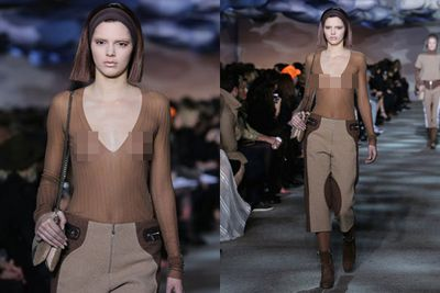 Wow! The world certainly saw a lot more of Kendall Jenner this year. <br/><br/>The 19-year-old bared her nipples during her runway debut at NYFW and was openly hesitant about the Kardashian name potentially tainting her high fashion aspirations.<br/>