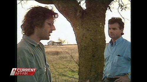 A Current Affair's Martin King (left) spent days with David Koresh.