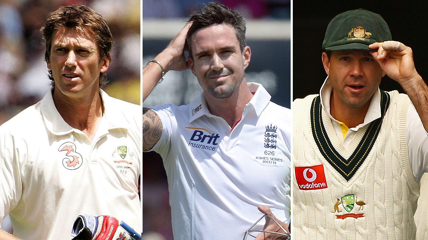 Glenn McGrath, Kevin Pietersen, Ricky Ponting