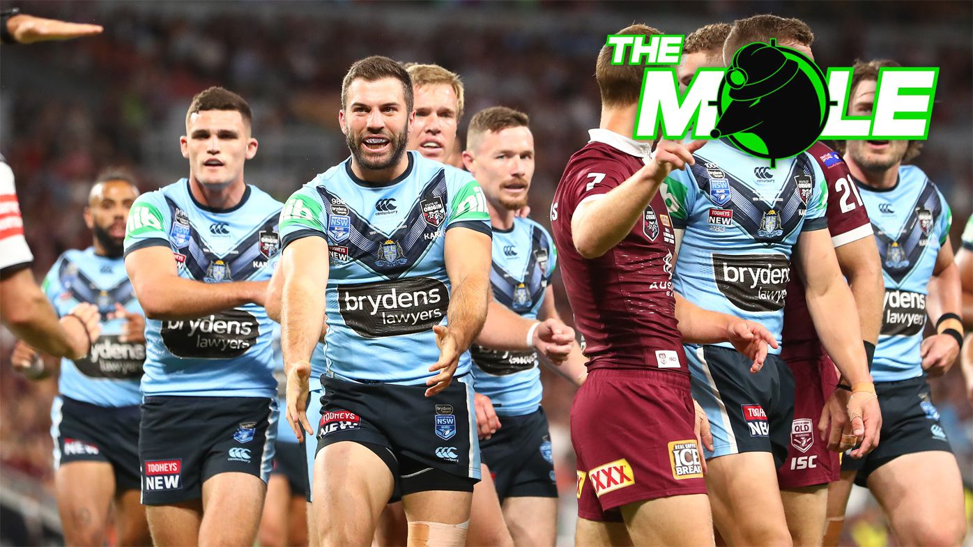 NSW Blues players struggled without James Tedesco.