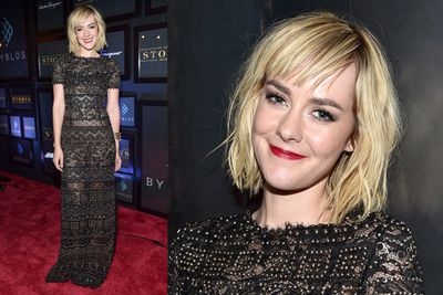 <i>The Hunger Games</i> star Jena Malone at the <i>Time Out Of Mind</i> premiere after party.