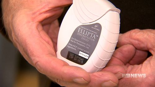 Trelegy has been shown to reduce hospital admissions for the lung condition by 34 percent. Picture: 9NEWS