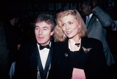 Photographer Terry O'Neill, wife, actress Faye Dunaway
