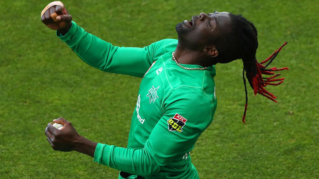 BBL10 news: Melbourne Stars' Andre Fletcher, 'The Spiceman', fires against  Hobart Hurricanes at Blundstone Arena