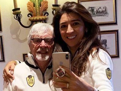 Bernie Ecclestone, Fabiana Flosi, selfie
