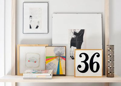 <strong>Art work and shelves is an obvious yes</strong>