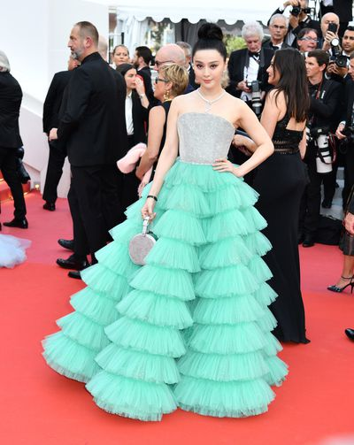 Fan Bingbing in Ali Karoui Couture at the 2018 Cannes Film Festival