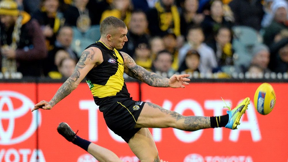 Future of Richmond Tigers superstar Dustin Martin up in the air