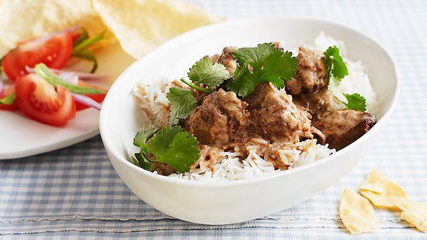 Coconut pork curry